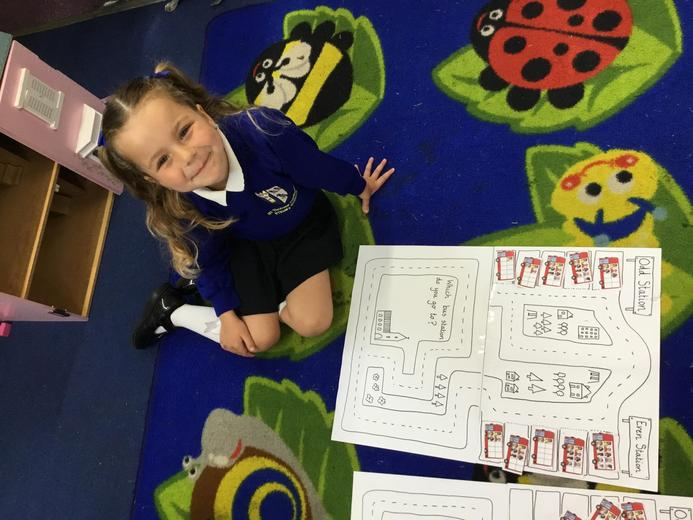 We were learning about odd and even numbers!