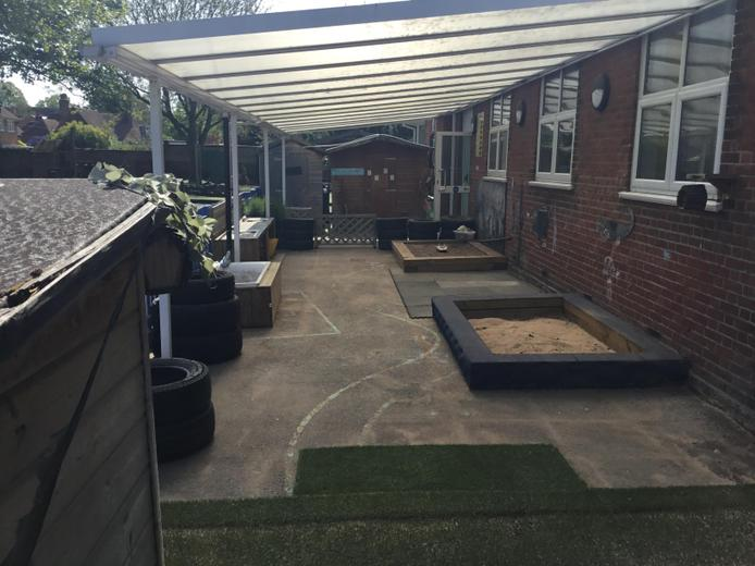 Foundation Stage (Reception Class) Outside Area