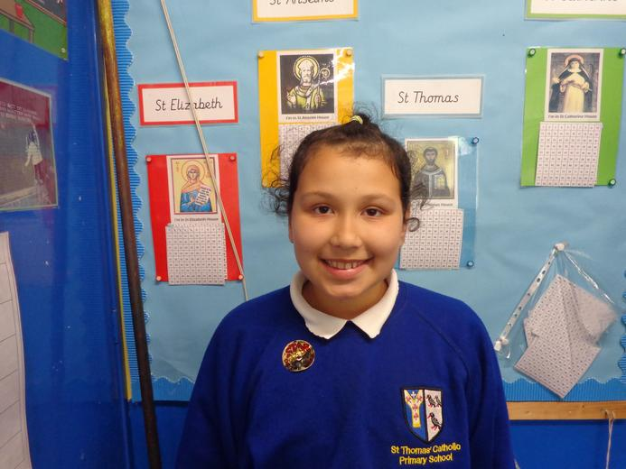Well done to our star of the week - for her constant high level of work