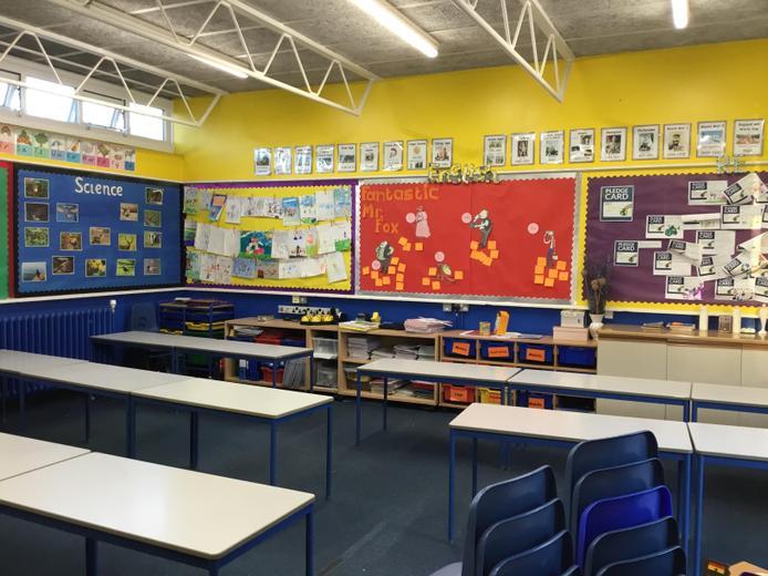 Year 2 Classroom