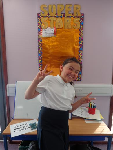 Well done to our star of the week - for her wonderful enthusiasm to her learning.