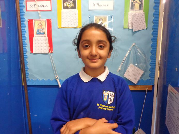Well done to our star of the week - for her wonderful understanding of the story of Saul
