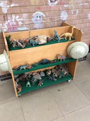 Dinosaur smallworld play