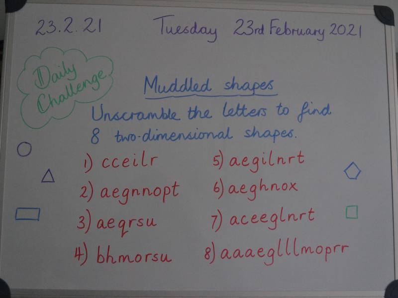 Tuesday 23rd February