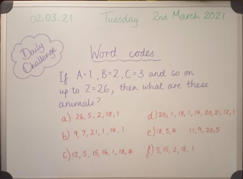 Tuesday 2nd March