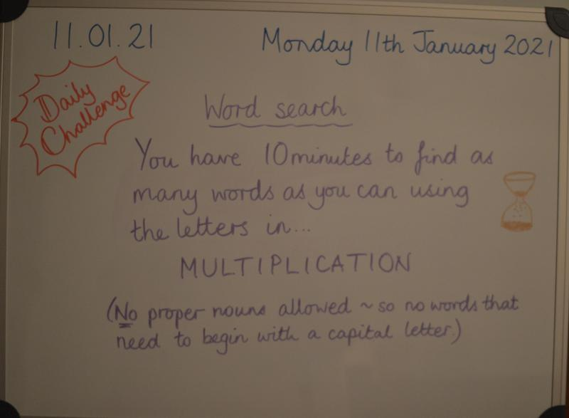 Monday 11th January
