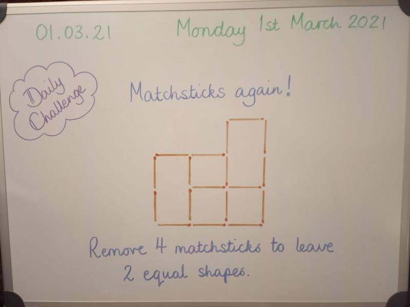 Monday 1st March