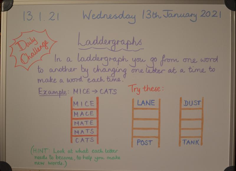 Wednesday 13th January