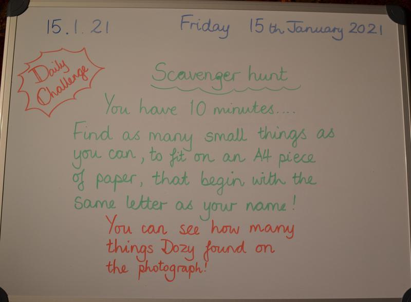 Friday 15th January