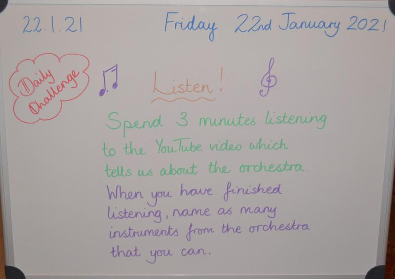 Friday 22nd January Please see Google Classroom for the link.