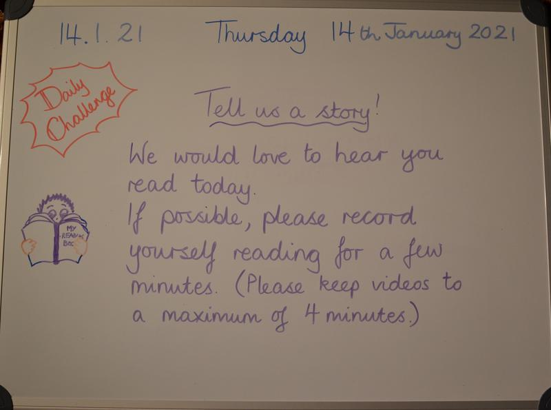 Thursday 14th January