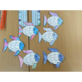 Our rainbow fish adjectives