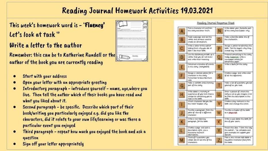 Reading Homework 19.03.2021