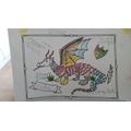 Ellae Dragon is very colourful