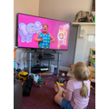 Learning the alphabet with Mr Tumble