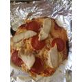 Manerva's Homemade Pizza - Looks delicious!