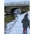 Corey what a super snowy walk