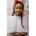 Leila proud of her maths