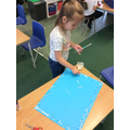 Designing boarders for their art work