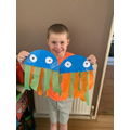 Kobi has made an octopus - not just one but two!