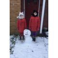 Look at that fantastic snowman