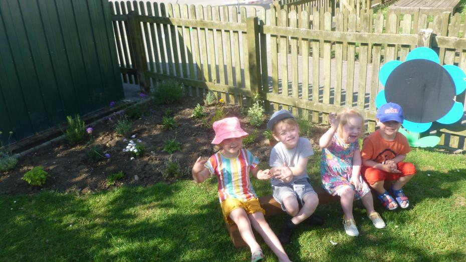 A sensory garden