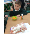 We have been measuring objects using cubes