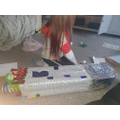 Octavia making her rocket