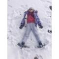 Octavia in the snow