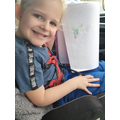 Alivia-Rose's story time drawing