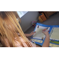 Ivy has been practicing her phonic reading when solving these word searches