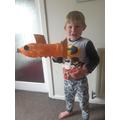 Fab goldfish Dylan!!!
