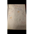 Evie-Rose's story map! I'm so impressed- well done Evie!