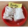 Brooke doesn't like crusts!