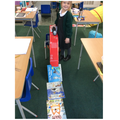 We took the Maths challenge very seriously.  The car went 1m67cm