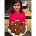 Yummy brownies, well done!