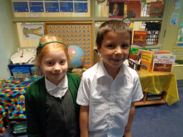 Well done Emily and Sam.