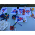 Fantastic VE Day crafts, Ethan.