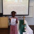 Anette Okworu achieved a gold medal.