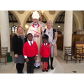 We met Bishop Alan at Brentwood Cathedral.