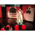 Cinderella's dress has been transformed!