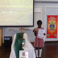 Zivah Amobi achieved a bronze medal.
