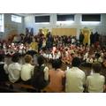 We all enjoyed Class Orange's Harvest Assembly.