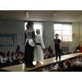 Jesus appears before Pilate.