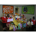 Thank you parent's for your Harvest donations.