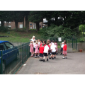 Class Purple doing PE