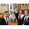 Making the towers we designed!