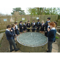 We prayed in our Prayer Garden