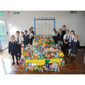The School Council organise our Food Bank donations.