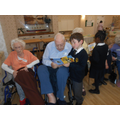 Reception visits to the Nursing Home